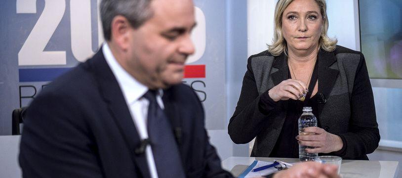 Xavier Bertrand et Marine Le Pen ont réagi vivement à l'annonce des dates de l'élection présidentielle 2022.