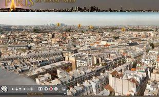 Paris 26 gigapixels réalisée par Arnaud Frich et Martin Foyer.