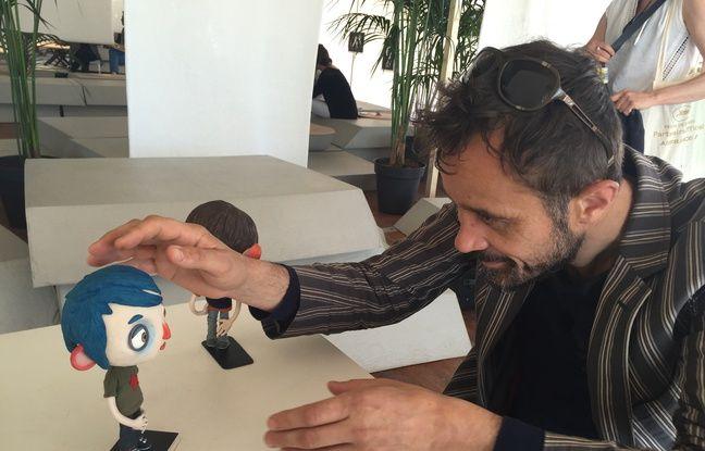 Claude Barras et Courgette à Cannes en mai 2016