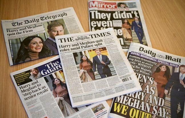 Annonce du prince Harry et Meghan Markle : Les médias britanniques entre surprise et indignation
