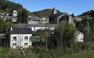 Le village de Vabre le 30 octobre 2015