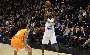 Charles Kahudi a réveillé l'Asvel en fin de partie, avec 20 points et 9 rebonds au total.