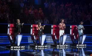 Les coachs de la saison 8 de «The Voice» sur TF1.