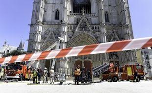 La cathédrale de Nantes a été incendiée le 18 juillet 2020