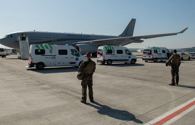Coronavirus: Six nouveaux patients de Mulhouse évacués par avion vers le CHU de Bordeaux