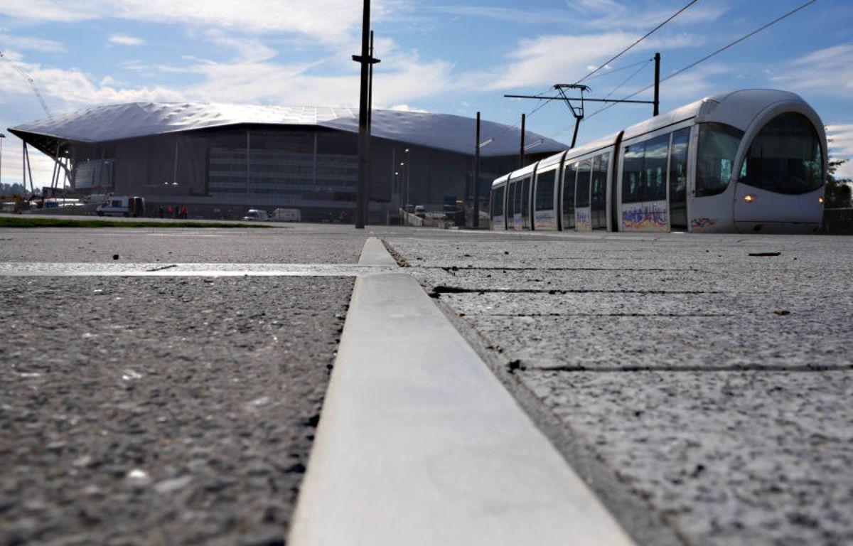 Le tramway devrait transporter vers le Grand Stade près de 10.000 voyageurs les soirs de match.  – Sytral