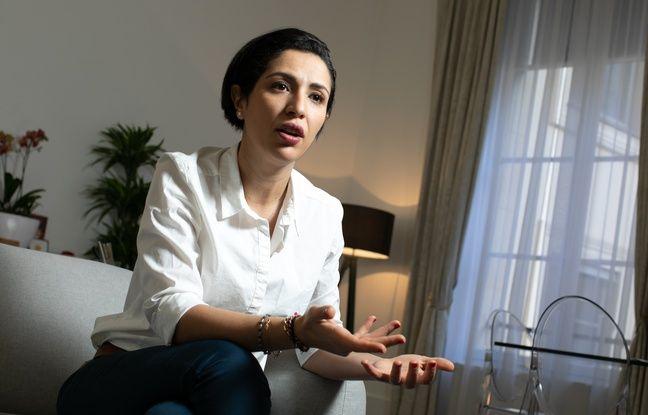 La secrétaire d'État Sarah El Haïry, chargée de la Jeunesse et de l'Engagement, le 25/01/2021.