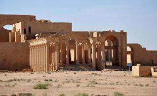 Vue du site irakien de Hatra, en octobre 2010