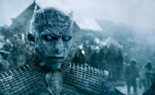 Le roi des White Walkers, le Night King, dans «Game of Thrones».