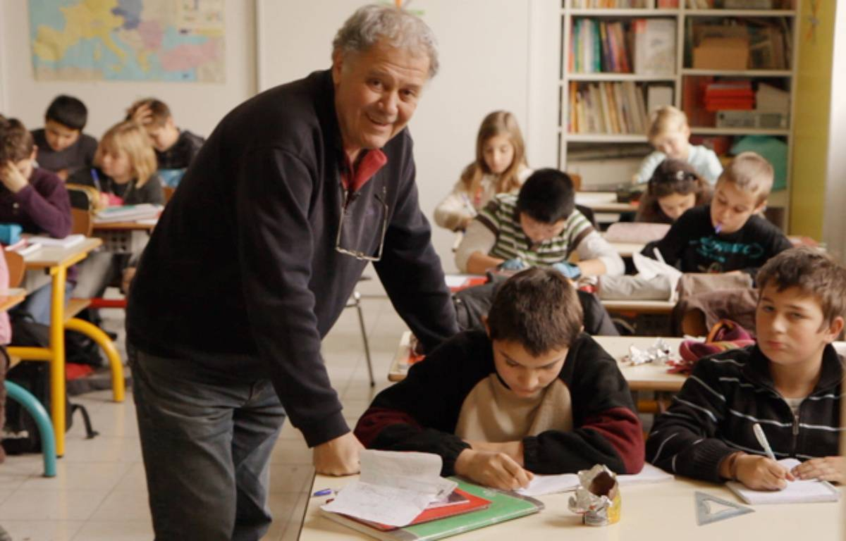Jean-Michel Burel, l'enseignant de  –  ©2015 B2Films-D8films