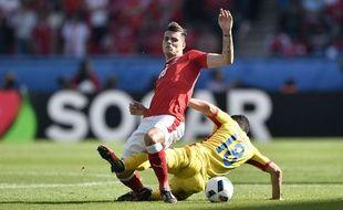 Xakha a lutté sur chaque ballon contre la Roumanie.