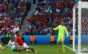 Le but contre son camp qui permet au pays de Galles de battre l'Irlande du Nord (1-0) et de se qualifier pour les quarts de finale de l'Euro, le 25 juin 2016 au Parc des Princes.
