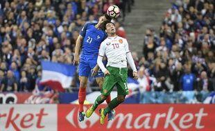 Laurent Koscielny lors de France-Bulgarie (4-1), le 7 octobre 2016 au Stade de France.