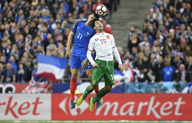 Laurent Koscielny lors de France-Bulgarie (4-1), le 7 octobre 2016 au Stade de France.