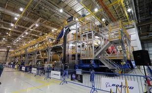 Le site d'assemblage du lanceur géantSpace Launch System à La Nouvelle-Orléans.