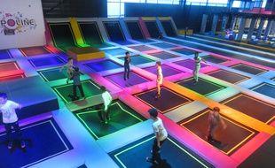Le parc Trampoline 44 à Saint-Sébastien dispose de 3000 m2 de trampolines