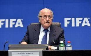 Joseph Blatter, président de la Fifa, le 21 mars 2014 à Zurich.