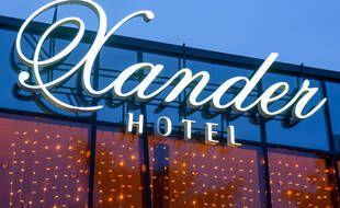 L'Hotel Xander où résidait Alexei Navalny avant son empoisonnement.