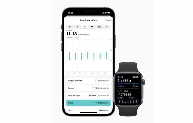 La surveillance de la respiration durant le sommeil fera partie de la panoplie de watch OS 8.