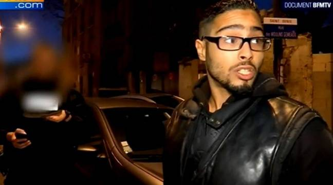"Jawad Bendaoud, le ""logeur"" de Saint-Denis – Image BFMTV"