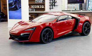 Lykan Hypersport Fast & Furious