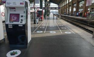 Gare du Nord, le 15 mai 2020.