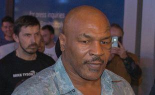 Le boxeur Mike Tyson