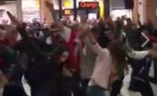 Image du flashmob.