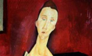 La Femme à l'éventail, Modigliani
