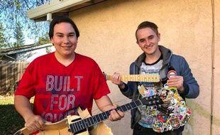 Chris Betancourt (à gauche) et Dillon Hill, meilleurs amis à la conquête de leurs rêves.