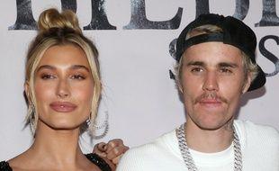 Les époux Hailey et Justin Bieber