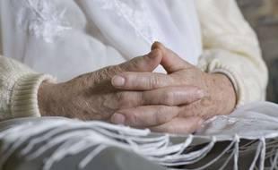 Illustration d'une personne âgée.