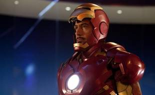 Robert Downey Jr dans le film «Iron Man 2».