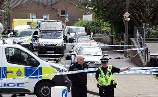 La scène du crime a été fermée au public par la police de Birstall.
