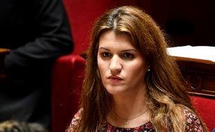 Marlène Schiappa à l'Assemblée nationale, le 27 mars 2019.