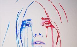 La Marianne en larmes qui a fait le tour du monde au lendemain des attentats a été réalisée par un Lyonnais de 21 ans, Benjamin Régnier.