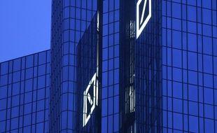 Le siège de la Deutsche Bank à Francfort, en Allemagne.
