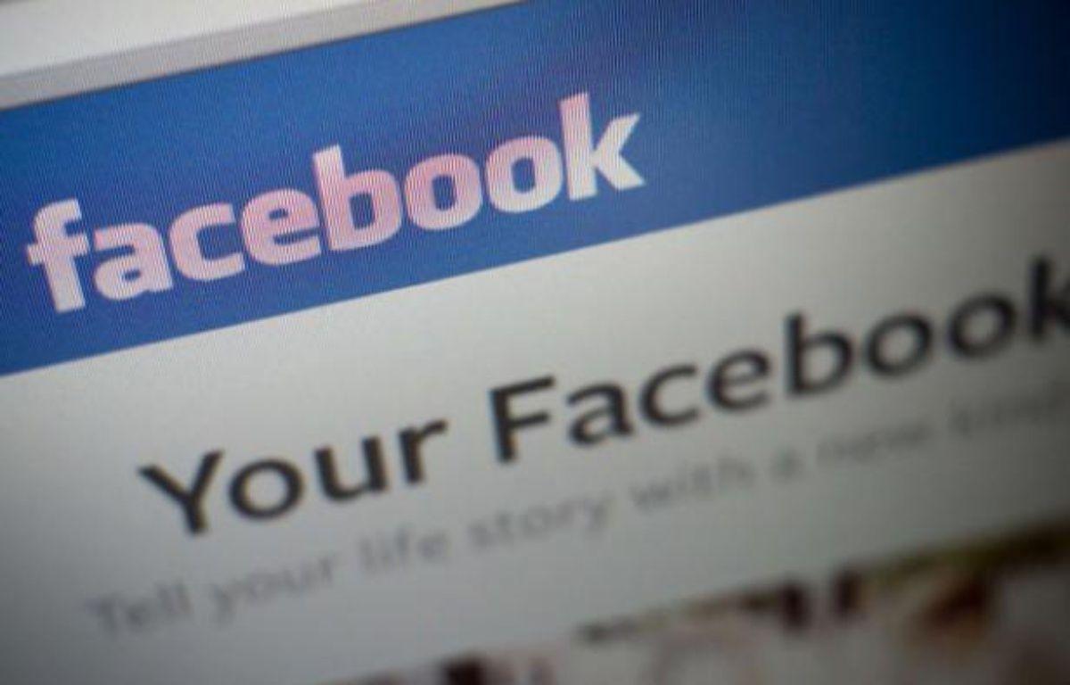 Page du réseau social Facebook.  – RICHARD B. LEVINE/NEWSCOM/SIPA