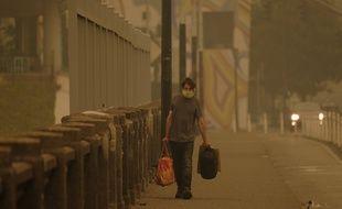 A Portland, l'indice de qualité de l'air atteint des niveaux critiques supérieurs à 300 à cause de la fumée des incendies.