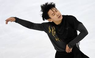 Le patineur kazakh Denis Ten