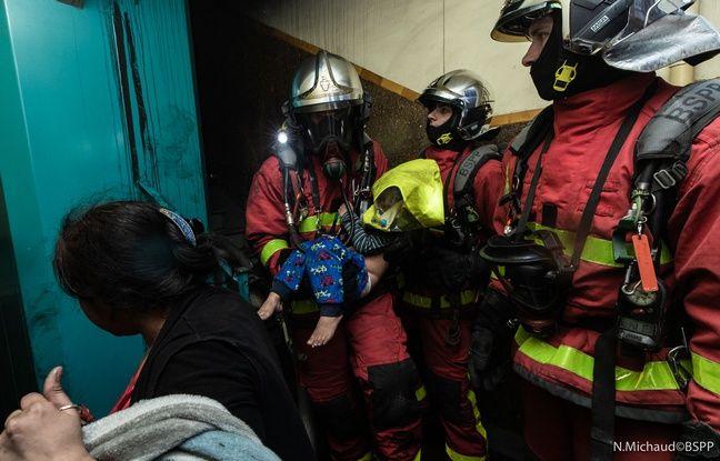 Parmi les victimes intoxiquées par les fumées se trouvent deux enfants et un policier.