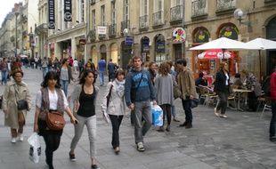 Le centre-ville de Rennes compte environ 1.800 commerces.