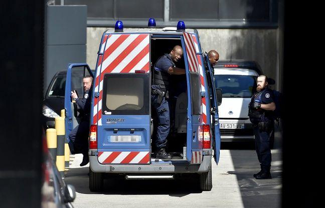 Hubert Caouissin a été transféré au Palais de justice de Nantes.