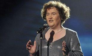 L'Ecossaise Susan Boyle lors de la finale télévisée de «Britain's Got Talent» le samedi 30 mai 2009.