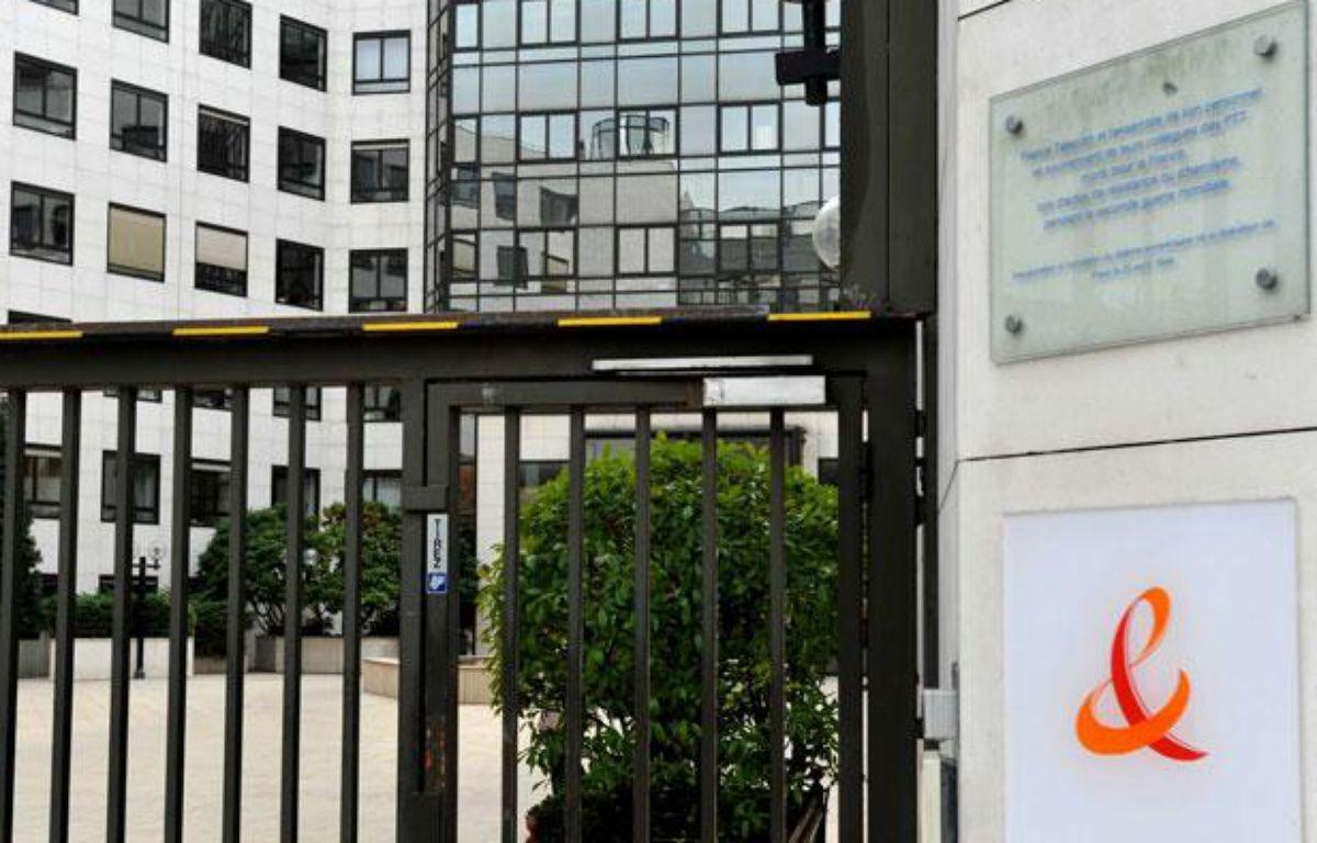 Le siège de la société France Télécom-Orange à Paris – STEVENS FREDERIC/SIPA