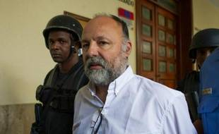 Le Français Christophe Naudin à Saint-Domingue, le 8 mars 2016