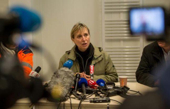 La préfète du Pas-de-Calais Fabienne Buccio le 11 janvier 2016 à Calais, dans le Pas-de-Calais