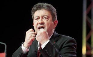 Jean-Luc Melenchon, en mars 2013 à Bordeaux.
