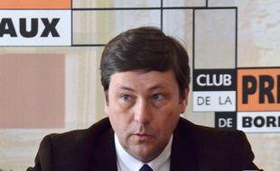 Yves d'Amécourt, chef de file de Gironde Positive pour les départementales