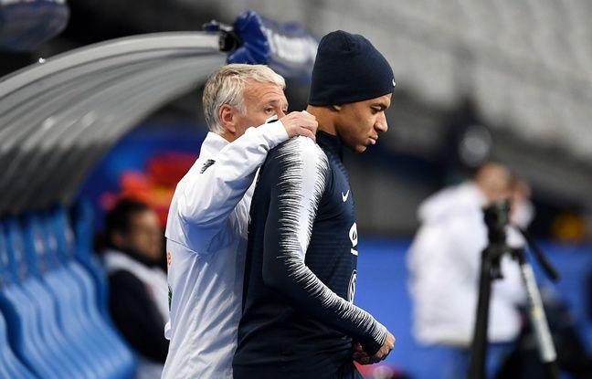 Equipe de France: Mbappé a «peut-être un peu trop tenté» contre la Moldavie, estime Deschamps